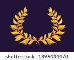 vector illustration of golden...   Shutterstock .eps vector #1896434470