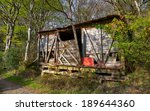 A Rickety Derelict Wooden Shac...