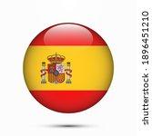 spain flag circle shape button...   Shutterstock .eps vector #1896451210