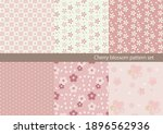 a set of japanese patterns of...   Shutterstock .eps vector #1896562936