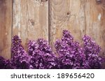 Bouquet Of Lilac Flowers On A...
