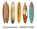 Collection Vintage Wooden...