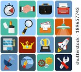 vector flat icons for web and...
