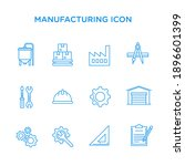 icon set of elements of... | Shutterstock .eps vector #1896601399