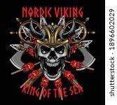 viking illustration available... | Shutterstock .eps vector #1896602029