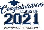 congratulations class of 2021 ...   Shutterstock .eps vector #1896611953