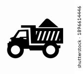 building truck icons   simple ...