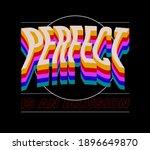perfect typographic slogan... | Shutterstock .eps vector #1896649870