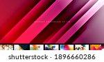 various simple minimal... | Shutterstock .eps vector #1896660286