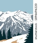 olympic national park  with...   Shutterstock .eps vector #1896696220