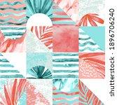 geometric minimal seamless... | Shutterstock . vector #1896706240