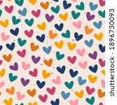 vector seamless pattern with... | Shutterstock .eps vector #1896730093