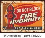 Fire Hydrant Blocking Warning ...