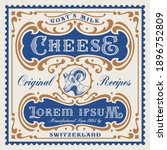 a vector cheese package... | Shutterstock .eps vector #1896752809