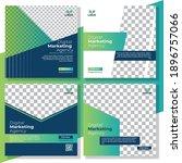 digital marketing social media... | Shutterstock .eps vector #1896757066
