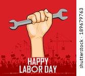 Illustration Of Labor Day...
