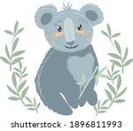 Koala Illustration Vector. The...