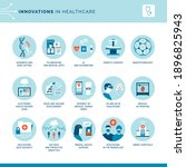 innovations in medicine and... | Shutterstock .eps vector #1896825943