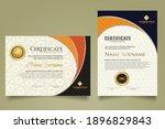 Set Modern Certificate Template ...