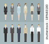 office worker | Shutterstock .eps vector #189683180