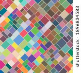 colorful square and rectangle...   Shutterstock .eps vector #1896834583