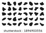 abstract blotch shape. liquid... | Shutterstock .eps vector #1896903556
