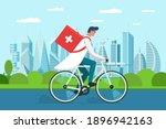 medicine pharmacy delivery....   Shutterstock .eps vector #1896942163