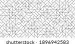 black and white art deco... | Shutterstock .eps vector #1896942583