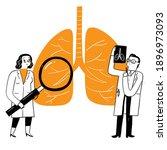 respiratory medicine... | Shutterstock .eps vector #1896973093