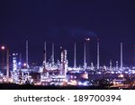 petrochemical plant  | Shutterstock . vector #189700394