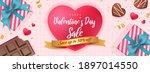 happy valentine's day sale... | Shutterstock .eps vector #1897014550