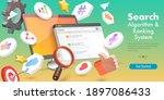 3d vector conceptual... | Shutterstock .eps vector #1897086433