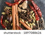 Indian Spices. Indian Spicy...