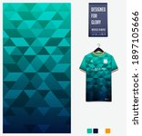 fabric pattern design.... | Shutterstock .eps vector #1897105666
