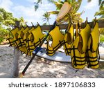 Yellow Life Vests Or Life...