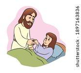 jesus raises a dead girl