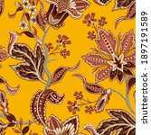 ethnic seamless pattern with...   Shutterstock .eps vector #1897191589