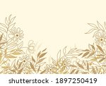 vector illustration of floral...   Shutterstock .eps vector #1897250419