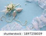 Wedding Card Design In Pastel...