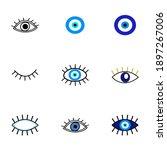 evil eye protection talisman.... | Shutterstock .eps vector #1897267006