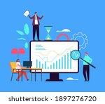 business idea planning strategy ... | Shutterstock .eps vector #1897276720