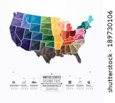 United States Map Infographic...