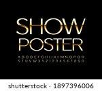 vector elite template show...   Shutterstock .eps vector #1897396006