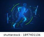 concept of orthopedic... | Shutterstock .eps vector #1897401136