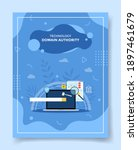 domain authority for template of banners, flyer, books cover, magazine
