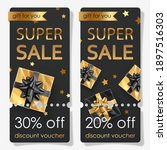 discount voucher for super sale ... | Shutterstock .eps vector #1897516303