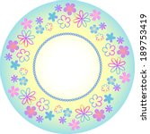 Beautiful Round Girly Frame...