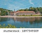 Panorama View On Weltenburg...