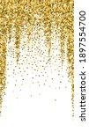 gold glitter luxury sparkling... | Shutterstock .eps vector #1897554700