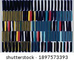 abstract collage asymmetric... | Shutterstock .eps vector #1897573393